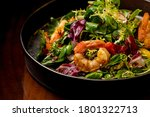 Shrimps Salad With Cherry...