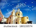 beautiful panoramic view of the ... | Shutterstock . vector #180133574