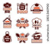 Home Cooking Logo. Kitchen...