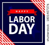 Labor Day Vector Design And Us...