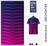 fabric textile pattern design... | Shutterstock .eps vector #1801434769