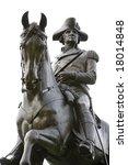 An Equestrian Statue Of Genera...