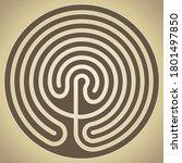 The Labyrinth Of Knossos  Crete ...