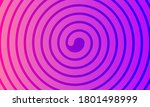 Banner With Spiral  Magic Pink...