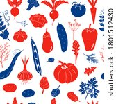 seamless pattern with... | Shutterstock .eps vector #1801512430