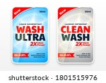 laundry detergent cleaner... | Shutterstock .eps vector #1801515976