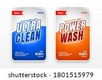 detergent cleaner disinfectant...   Shutterstock .eps vector #1801515979