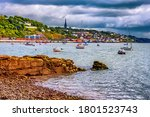Cork Harbour In Ireland With...