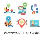 ordering food icon. business...   Shutterstock .eps vector #1801528000