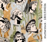 trending greek gods vector art... | Shutterstock .eps vector #1801534036