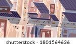 top or birds eye view of... | Shutterstock .eps vector #1801564636