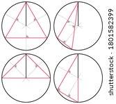 construction of a circle... | Shutterstock .eps vector #1801582399