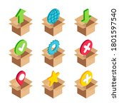 isometric network services box...