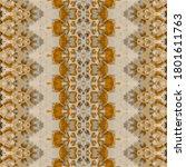 Geo Geometric Textile. Gray Ge...