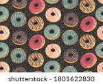 vector seamless pattern with... | Shutterstock .eps vector #1801622830