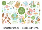 a collection of sustainable ... | Shutterstock .eps vector #1801634896