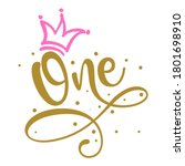 One  1.  Birthday Baby Girl...