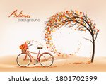 Enjoy Autumn Background. Tree...