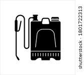 backpack sprayer icon ... | Shutterstock .eps vector #1801722313