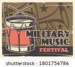 music festival  military band... | Shutterstock .eps vector #1801756786