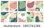 creative abstract templates.... | Shutterstock . vector #1801761286