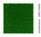 grass squared portion isolated... | Shutterstock . vector #180176600