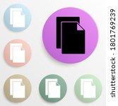 sheets badge color set. simple...