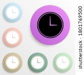 wall clock badge color set....