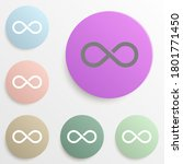 infinity badge color set....