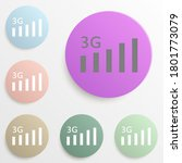 3g badge color set. simple...
