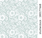 lace seamless pattern with... | Shutterstock .eps vector #180177668