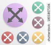 arrow  size badge color set...