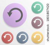arrow  refresh badge color set...