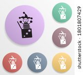 jack in the box badge color set ...