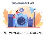 photography school course.... | Shutterstock .eps vector #1801808950