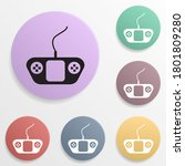game controller badge color set ...