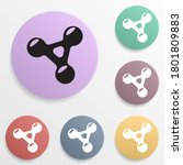 fidget spinner badge color set...