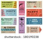 a collection of ten vector... | Shutterstock .eps vector #180190238