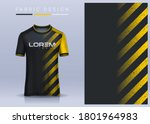 fabric textile for sport t... | Shutterstock .eps vector #1801964983