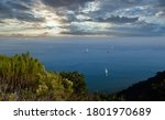 View Of The San Diego Bay With...