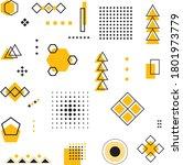 universal trend geometric... | Shutterstock .eps vector #1801973779