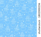 vector christmas winter... | Shutterstock .eps vector #1802000236
