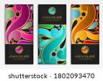 luxury packaging design of... | Shutterstock .eps vector #1802093470