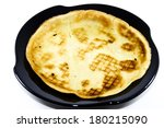 fresh baked pancakes with... | Shutterstock . vector #180215090