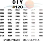 set of 120 mixed brushes  ... | Shutterstock .eps vector #1802166916