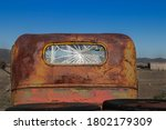 Back Of An Old Us Army Truck On ...