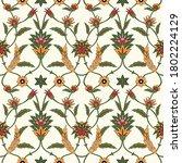 seamless ethnic ornament ... | Shutterstock .eps vector #1802224129