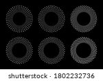 white halftone circular dotted... | Shutterstock .eps vector #1802232736