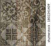 Digital Tiles Design.  3d...