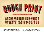 a vintage style poster headline ... | Shutterstock .eps vector #1802269933